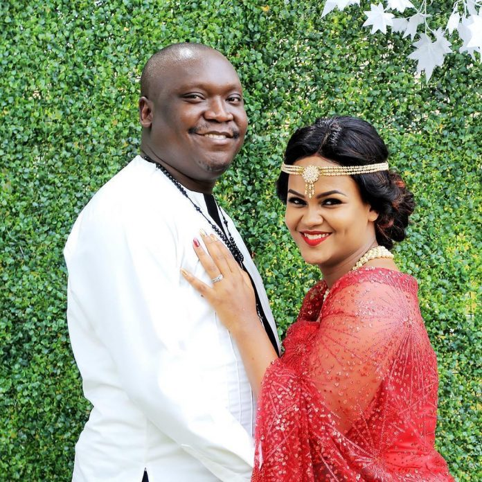 Comedian Salvador Idring and Wife